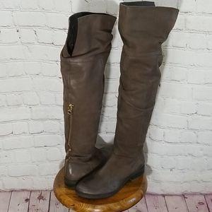 Steve Madden Heisenberg OTK Brown Boots
